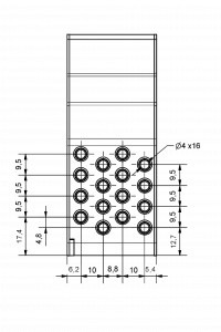 Compact II eyelet dimensions